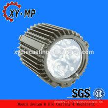 Fabriqué en Chine Radiateur de moulage sous pression OEM dissipateur de chaleur à LED 50w