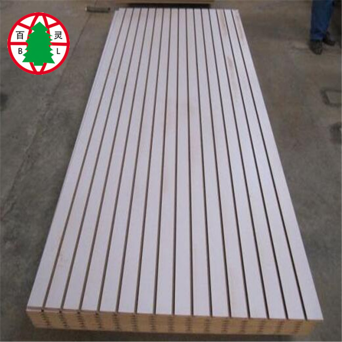 16 mm slot mdf grooved mdf board