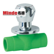 PPR Ball Valve with Brass Cover
