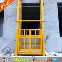 alibaba express mechanical lifting devices guide lead rail lifts platform for cargo