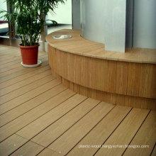Natural Wood Grain Composite Decking for Garden Application