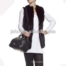 China manufacturer wholesale fashion rabbit fur vest