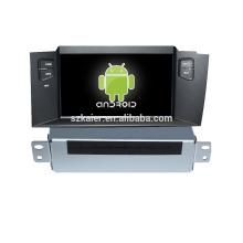 Quad core! DVD de coche con enlace de espejo / DVR / TPMS / OBD2 para la pantalla táctil de 7 pulgadas 4.4 sistema Android Citroen C4L
