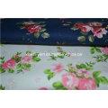 Diseño de flores estampado de tela para sofá / silla / cojín