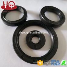 Nueva mecánica radial aoto parte rotary shaft sellado sello de aceite de goma O RING Dust labio aceite sellos