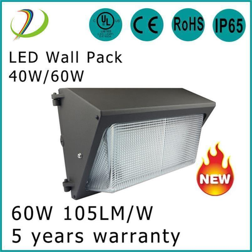 Paquete de pared LED de alta eficiencia 60W