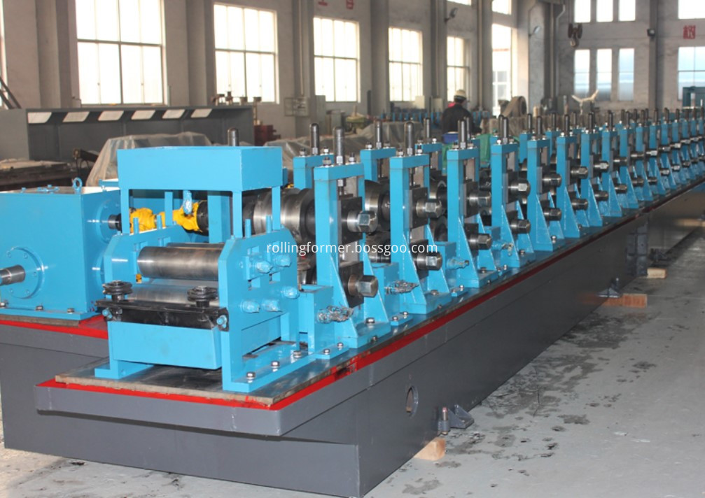 Elevator hollow guide rail roll forming machine (4)