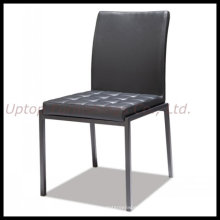 Black Armless Dining Leather Restaurant Chair (SP-LC272)
