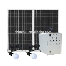 Mini solar lighting system for indoor
