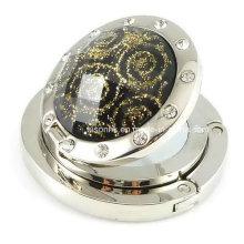 Nouveau crochet de diamant à diamant pour cadeaux de mariage avec miroir