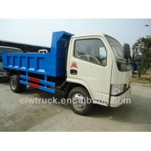 Dongfeng Small 5CBM Slip Capa Caminhão Basculante