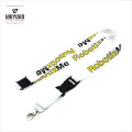 White Custom Lanyards No Minimum Order, Awesome Lanyards, Cheap Custom Lanyard