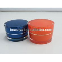2ml 5ml 10ml 15ml 30ml 50ml 100ml Jarra acrílica de los cosméticos para la crema