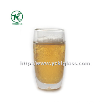 Double Wall Glass Bottle by BV, SGS (Dia8cm, H: 12.5cm, 308ml)
