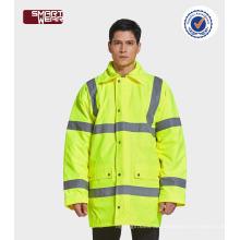 hallo vis Sicherheit Arbeitskleidung Winter Arbeitsuniform reflektierende Sicherheitsjacke