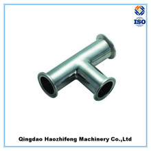 Sanitary Stainless Steel Clamp Tee