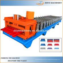 Rodillo de azulejos esmaltado de alta calidad que forma la maquinaria