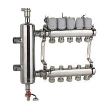 Ss304 Separador de agua para sistema de calefacción por suelo radiante