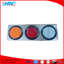 Amber-Red-White Waterproof LED Truck Tail Lamp