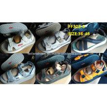 Männer neuesten hochwertigen Sandale Strand Sandale Stock (FF328-5)