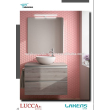 Cheap Price Luxury View with Invisible Aluminum Handle Vanity do banheiro
