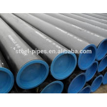 Astm schedule 40 usine de tuyaux en acier, a106 gr.b annexe 40 tuyau en acier