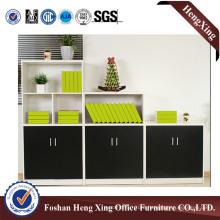 Modern 2 Open Doors Melamine Bookshelf File Cabinet (HX-6M287)