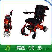 Cadeira de rodas elétrica orientável para idosos