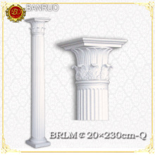 Banruo White Wedding Pillars Columns for Building Decoration