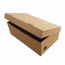 Caja de zapatos de empaquetado de papel de la cartulina modificada para requisitos particulares