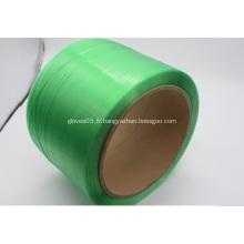 Prix pas cher meilleure qualité cerclage en plastique vert