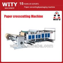 Control de computadora de alta precisión de papel de copia Crosscutting Machine