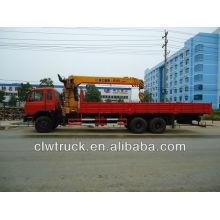 DongFeng 6x4 LKW mit Kran, XCMG 12 Tonnen Kran