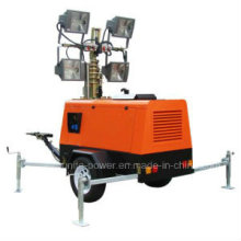 Mobile Diesel Construction Light Tower Generator