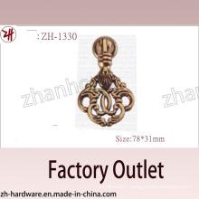 Factory Direct Sale Zinc Alloy Big Pull Archaize Handle(Zh-1330