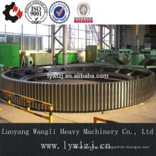 O OEM personalizou a grande engrenagem de anel da carcaça de alta qualidade / anel da engrenagem para o moinho de bola