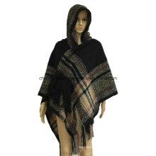 Senhoras Últimas lã e caxemira cachecóis cachecóis Pashmina moda inverno acrílico Jacquard Pashmina Xaile