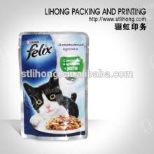 Foil Zipper Bag for Cat Food