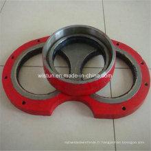 Plaque d'usure pour pompe à béton et anneau de coupe pour Pm Schwing Zoomlion Sany Kyokuto