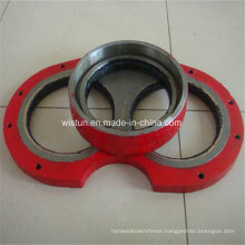 Concrete Pump Wear Plate and Cutting Ring for Pm Schwing Zoomlion Sany Kyokuto