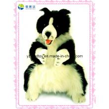 Body Puppet Collie Plüschtier mit einem Hund (XDT-0126)