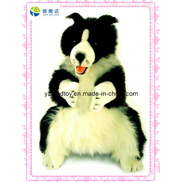 Body Puppet Collie Dog Plush Toy (XDT-0126)