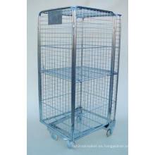 4 lados seguro rodillo jaula para el transporte (SLL07-L006)
