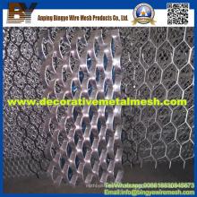 Paneles de metal de malla de diamante / aluminio decorativo de metal expandido