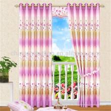 China por mayor alambre hecho cortinas de ojal para sala de estar