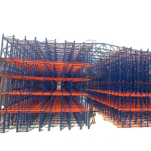 Ebil Automatic Storage Rack Clad Supported Warehouse Building High Density Storage Racking