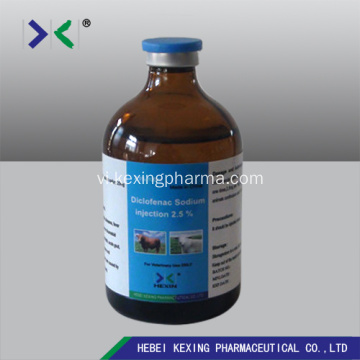 Thú vật 5% Diclofenac Sodium Injection