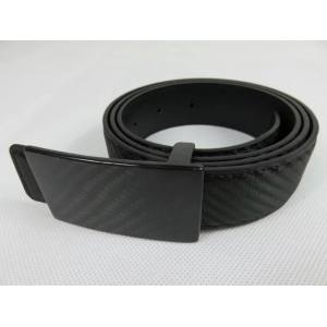 Carbon fiber men belt