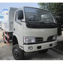 Camión de volquete del dong feng del dongfeng de la camioneta dongfeng de 4 * 2 95hp pequeño