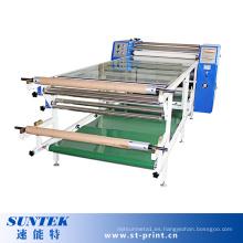 Tipo de rodillo de la máquina de transferencia de sublimación de calor para la impresión de tela